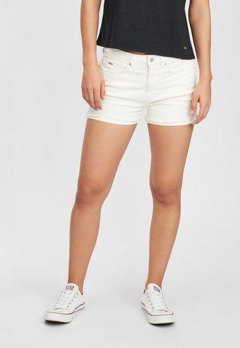 Short en jean - powder white
