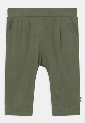 UNISEX - Trousers - dark green