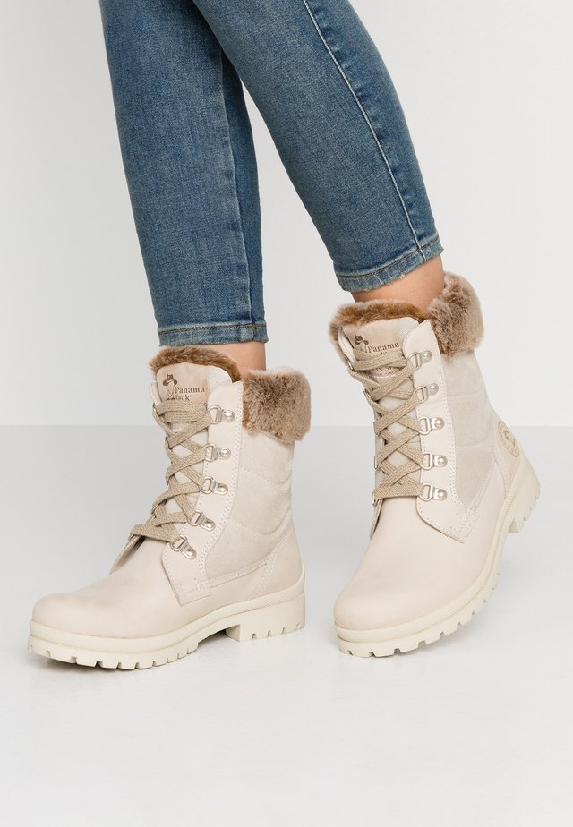 TUSCANI - Lace-up ankle boots - hielo/ice