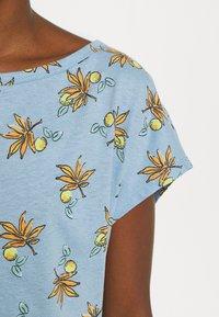 Esprit - TEE - T-shirts med print - light blue - 5