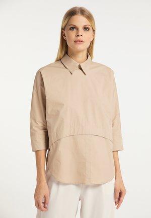 Long sleeved top - kamel