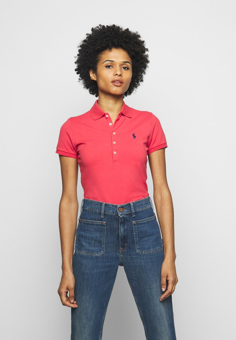Polo Ralph Lauren - JULIE SHORT SLEEVE - Polo - starboard red