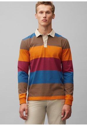 Polo shirt - multi/cinnamon