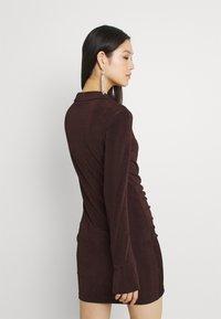Gina Tricot - DOLLY DRESS - Jerseyklänning - coffee bean - 2