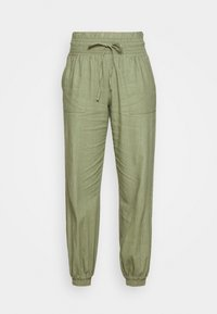 ONLY - ONLPALMA  MIX TRACK  - Tracksuit bottoms - oil green - 3
