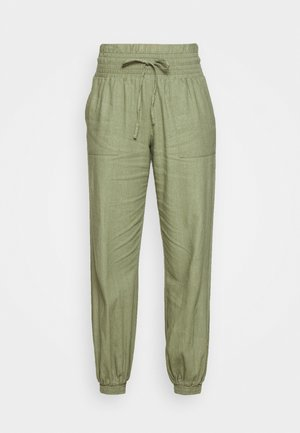 ONLPALMA  MIX TRACK  - Tracksuit bottoms - oil green