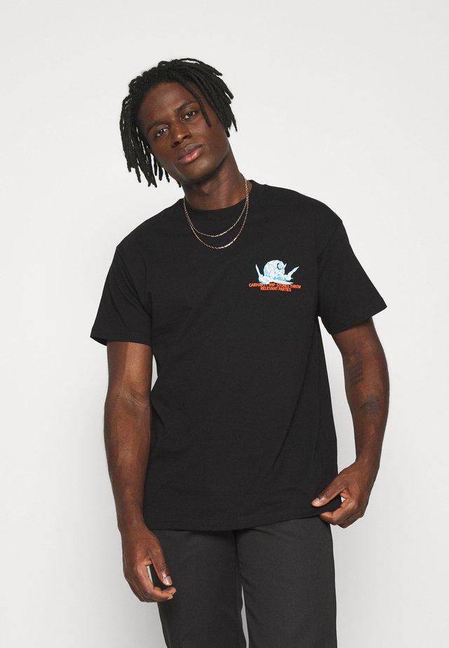 STONE THROW  - T-shirts print - black