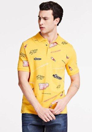 Polo shirt - mehrfarbig  gelb