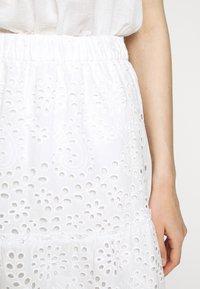 Bruuns Bazaar - ABELINA LAURANA SKIRT - A-line skirt - snow white - 5