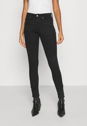 ONLANNE K LIFE MID SKINNY - Jeans Skinny Fit - black