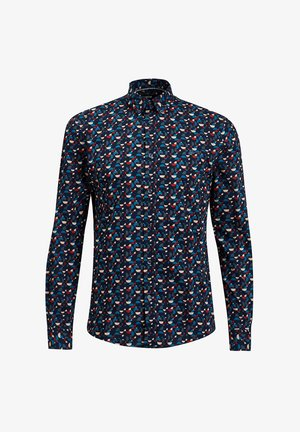 MET ALL-OVER DESSIN - Shirt - dark blue