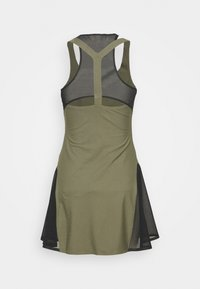 Nike Performance - MARIA DRESS - Sportovní šaty - medium olive/black - 1