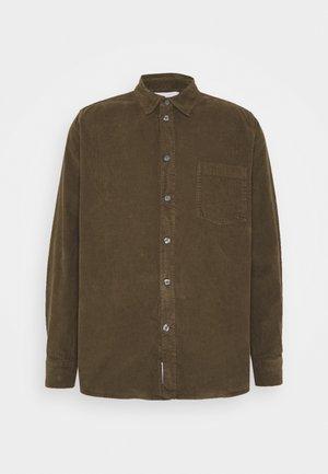 ASKE CORD - Shirt - dark green