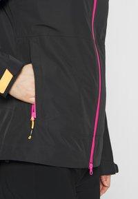CMP - WOMAN JACKET FIX HOOD - Hardshell jacket - antracite - 5