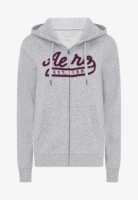 AÉROPOSTALE - Zip-up hoodie - grey - 4