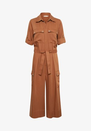 QUIIW  - Jumpsuit - tabac