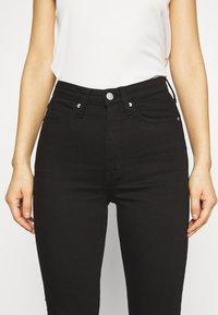 Calvin Klein Jeans - HIGH RISE  - Skinny džíny - eternal black - 3