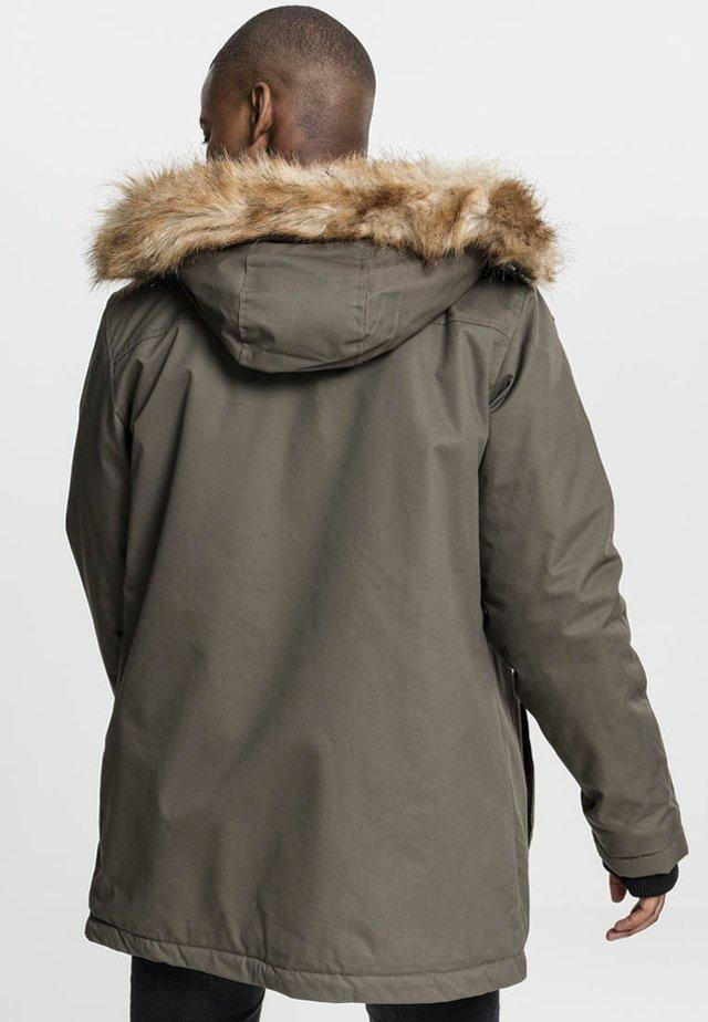 FIFFI - Winter jacket - olive