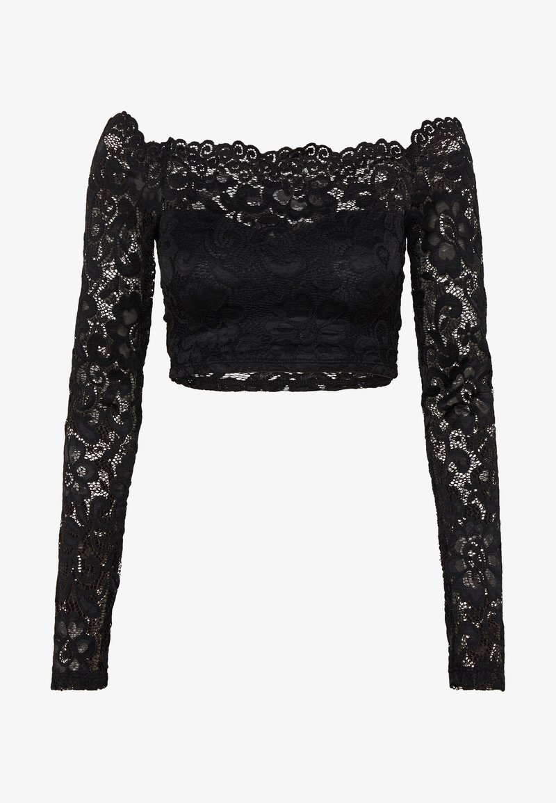 Nly by Nelly - OFF SHOULDER - Bluse - black