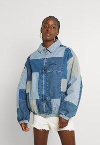 BDG Urban Outfitters - PATCHWORK BILLY JACKET - Denim jacket - denim - 0
