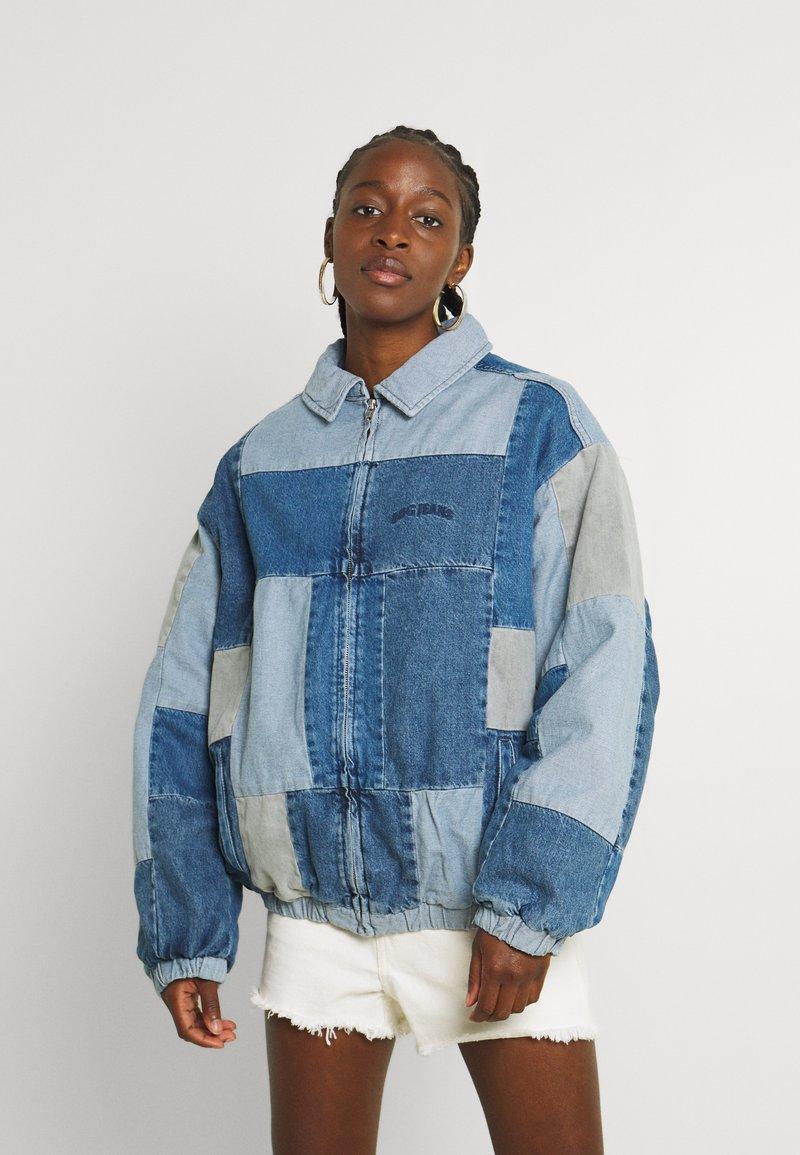 BDG Urban Outfitters - PATCHWORK BILLY JACKET - Denim jacket - denim