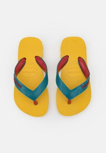 TOP MIX UNISEX - T-bar sandals - gold yellow