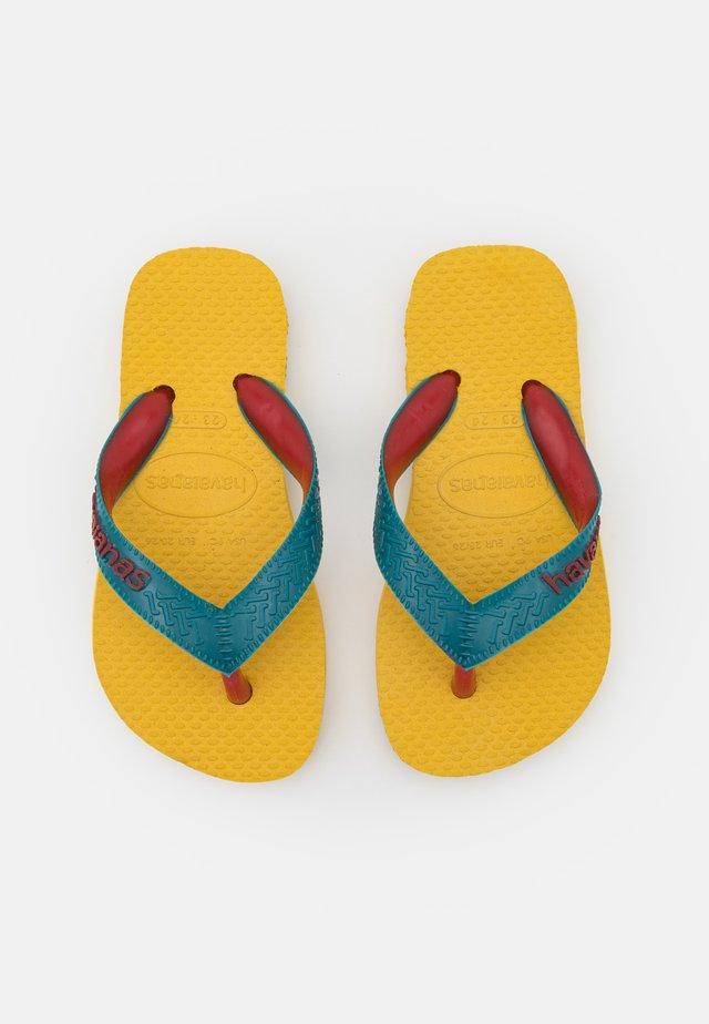 TOP MIX UNISEX - Tongs - gold yellow