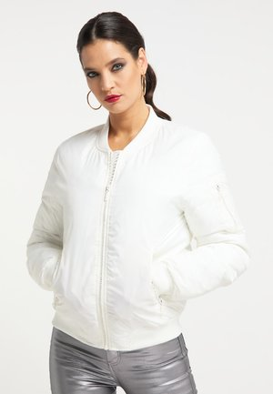 Chaquetas bomber - wollweiss