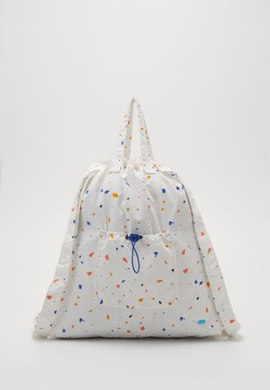 BEACH PACK - Rucksack - white/orange