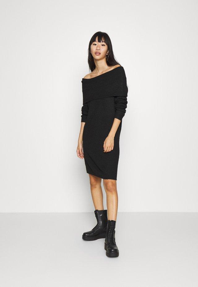 ONLMARLI LIFE DRESS  - Abito in maglia - black