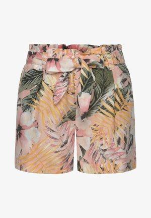 Shorts - apricot-bedruckt