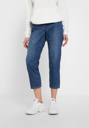 NMMIA HEAT - Relaxed fit jeans - medium blue denim
