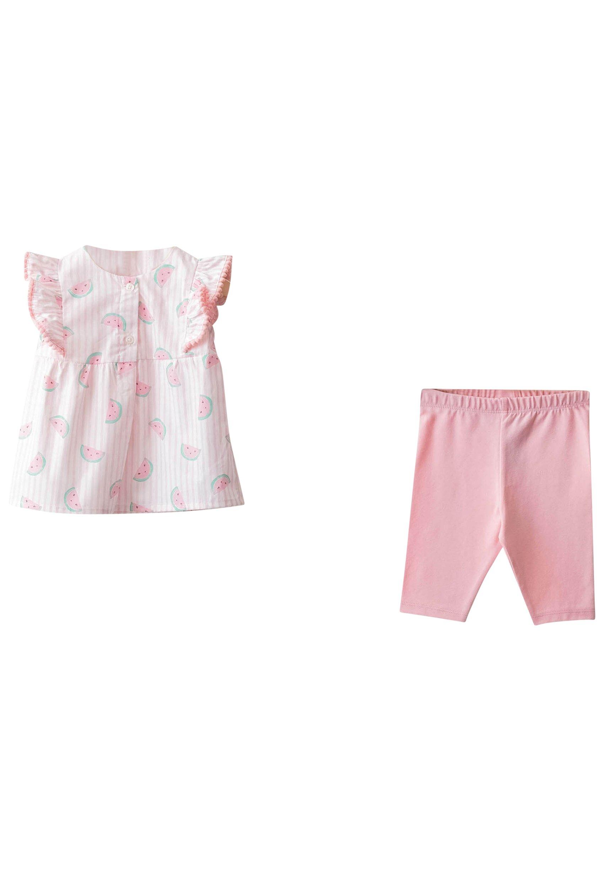 Kinder PRINTED POPLIN SET - Stoffhose