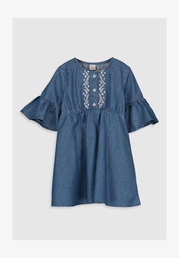 Denim dress - indigo