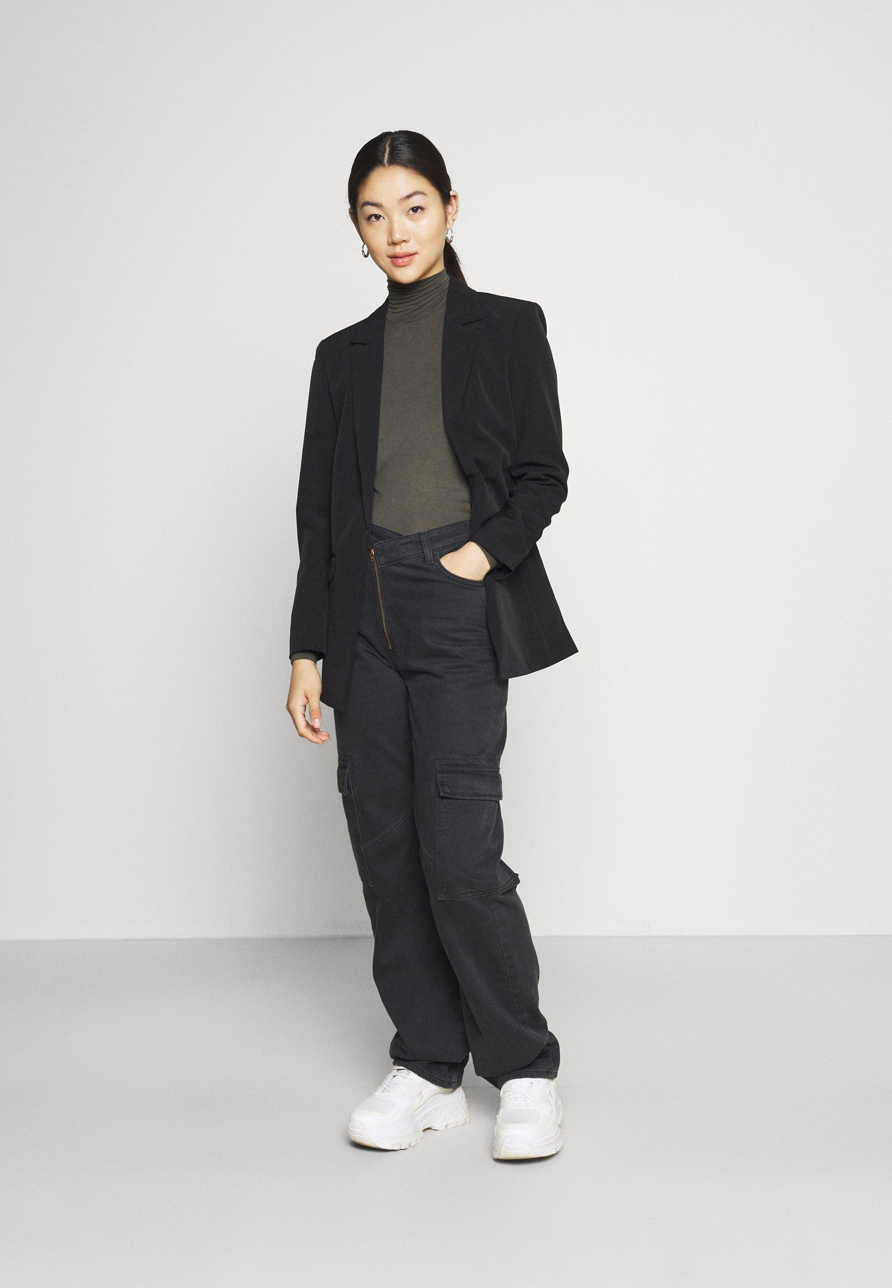 Women PCNEORA NECK  - Long sleeved top