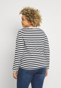 Selected Femme Curve - SLFANDARD - Long sleeved top - black - 2