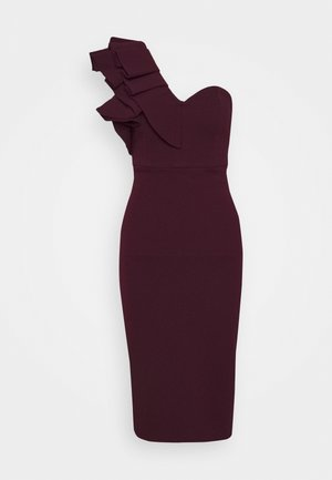 FOREVER MINE DRESS - Sukienka koktajlowa - wine