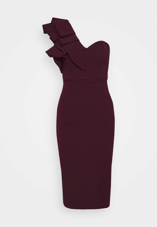 FOREVER MINE DRESS - Vestito elegante - wine