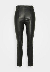 s.Oliver - HOSE 7/8 - Leggings - Trousers - black - 0