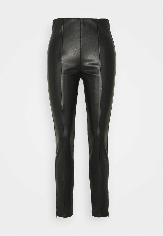 HOSE 7/8 - Leggings - Trousers - black
