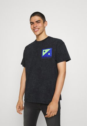 TECHNOMANIA PRINT TEE - Print T-shirt - black