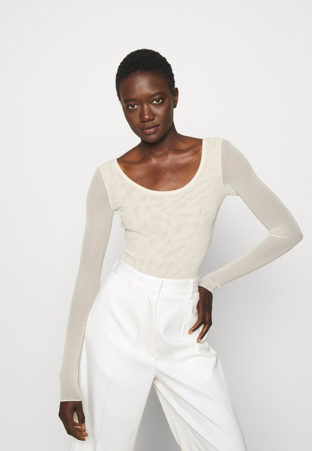 CARNET - Long sleeved top - white
