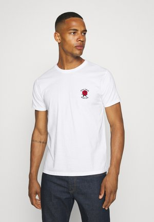 STAY TRUE WASHED UNISEX - Print T-shirt - white