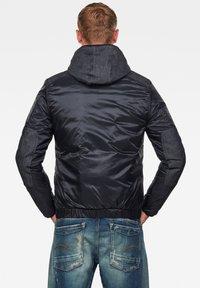 G-Star - SETCALE PADDED HOODED - Light jacket - mazarine blue - 1