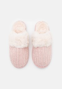New Look - NEQUIN SEQUIN MULE - Slippers - light pink - 4