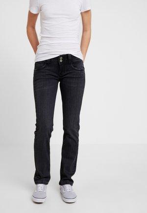 GEN - WISER WASH - Straight leg jeans - denim black wiser wash