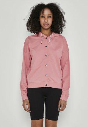 NMCONNY  - Zip-up sweatshirt - brandied apricot