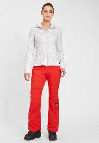 O'Neill - CLIME  - Fleece jacket - white aop w/ brown or beige - 1