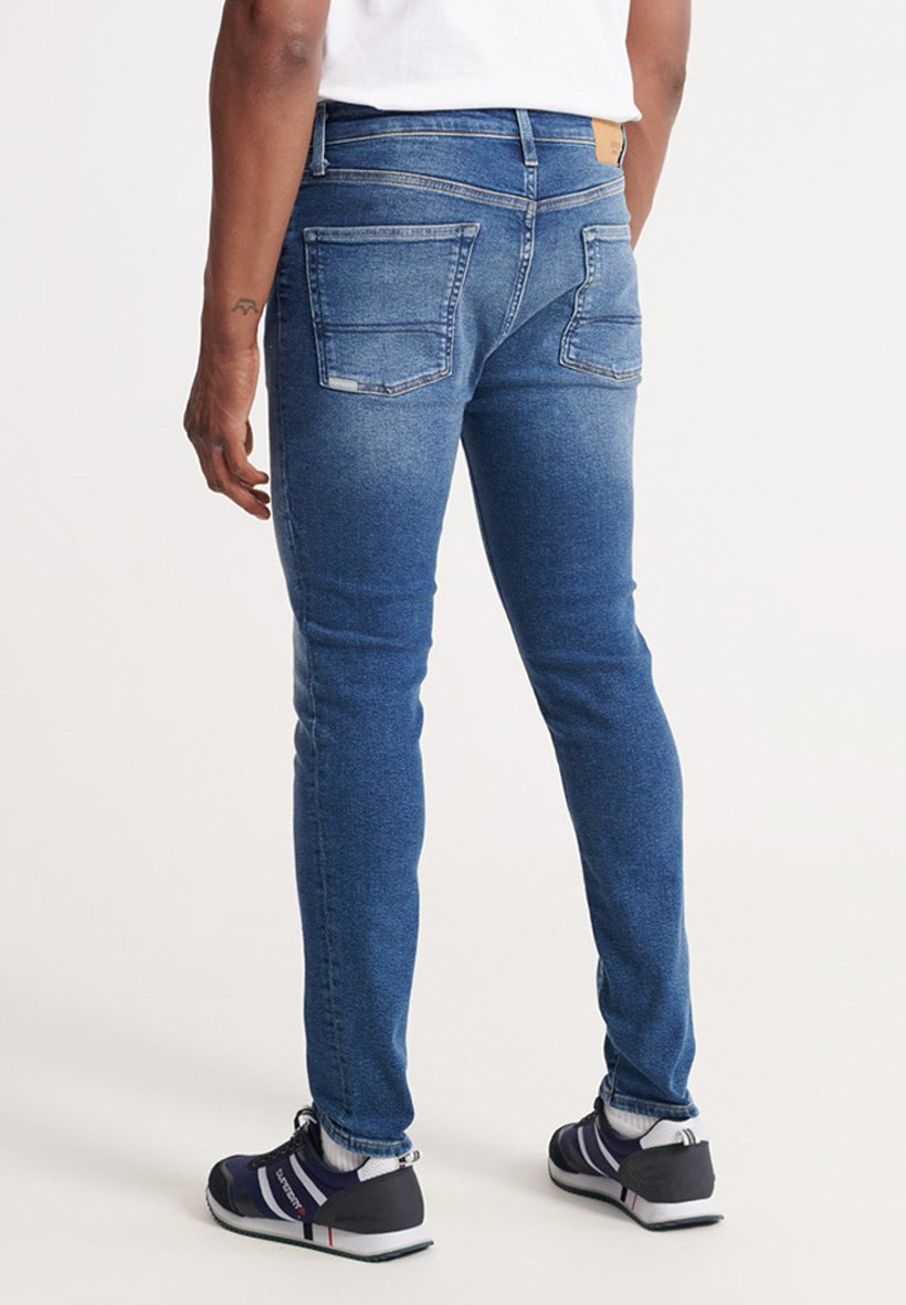 Superdry TRAVIS - Jeans Skinny - dark blue