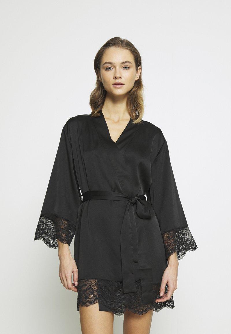 Etam - DESHABILLE - Dressing gown - noir